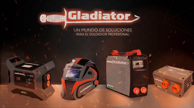 LINEA DE EQUIPOS DE SOLDAR GLADIATOR
